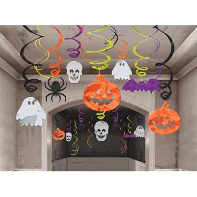 Halloween Foil Mega Swirls  - 30 pack