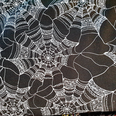 Halloween Patterned Web