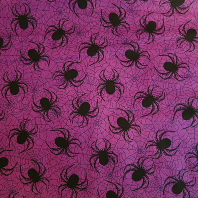 Halloween Spiders - Purple