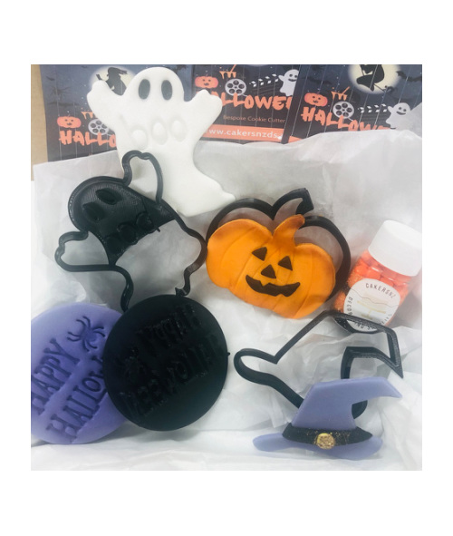 HALLOWEEN STAMPS - SIZE M - SETS X4