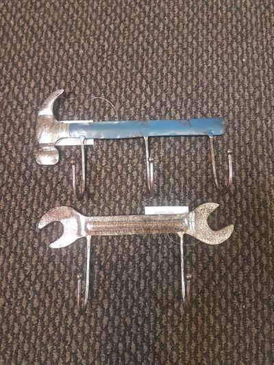 Hammer or spanner/wrench  keyholder - choose 1.