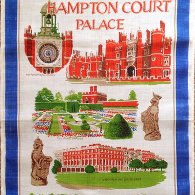 Hampton Court Palace Tea Towel