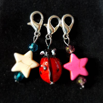 Hand Crafted Crochet Stitch Markers - Cont.