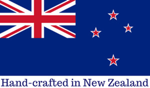 hand-crafted in New Zealand