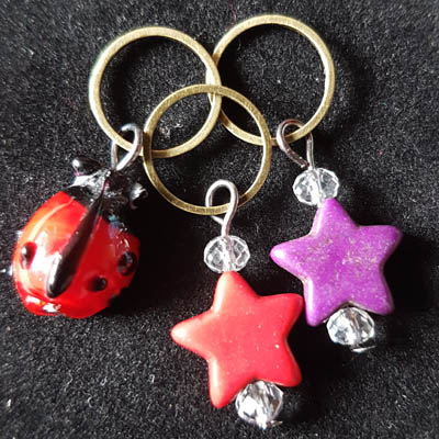 Hand Crafted Knitting Stitch Markers