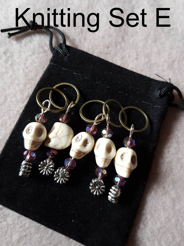 Knitting Stitch Markers Nz : Hand Crafted Knitting Stitch Markers - Crochet Creations