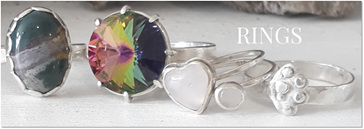 Hand Crafted Sterling Silver Rings