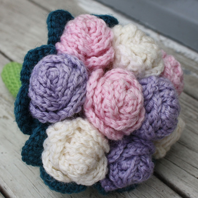 Hand Crocheted Bouquet
