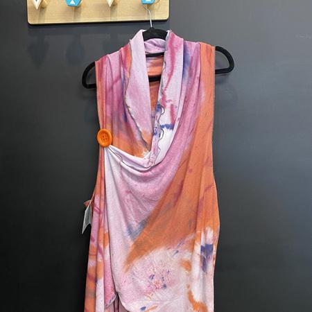 Hand Dyed Merino Cape
