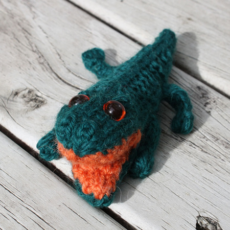 Hand Knitted Croc - Small