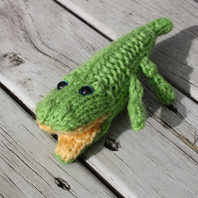 Hand Knitted Crocs - Medium