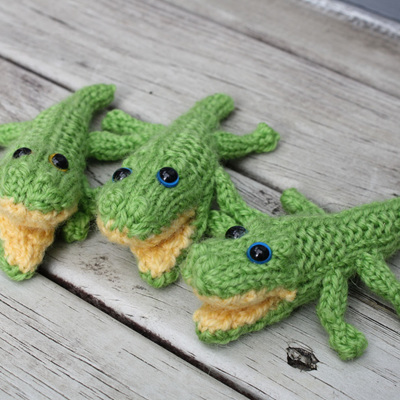 Hand Knitted Crocs - Small