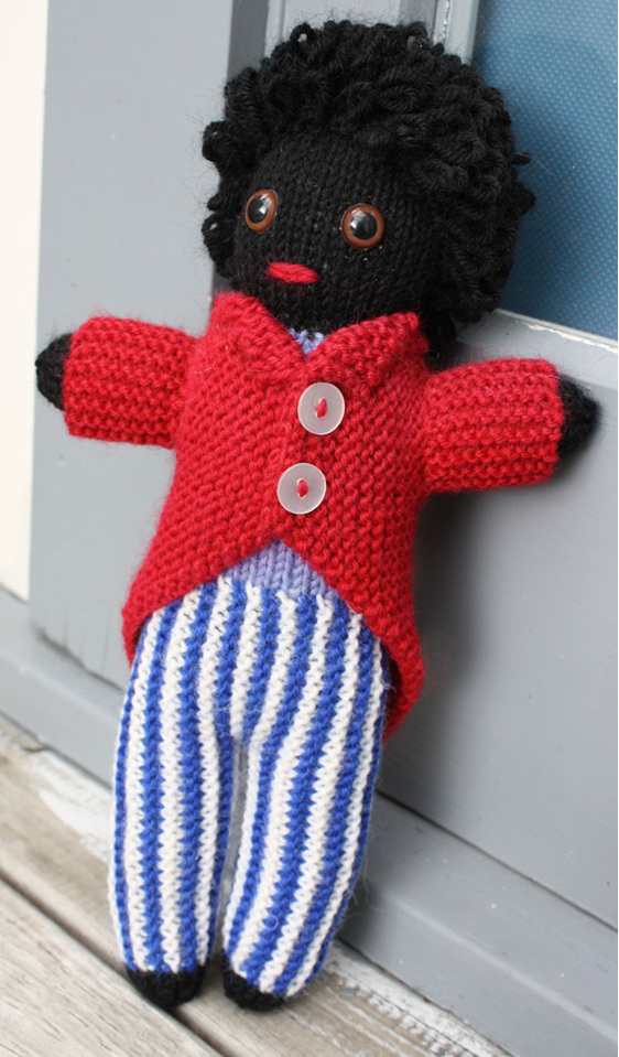 Hand Knitted Golly Doll Crochet Creations