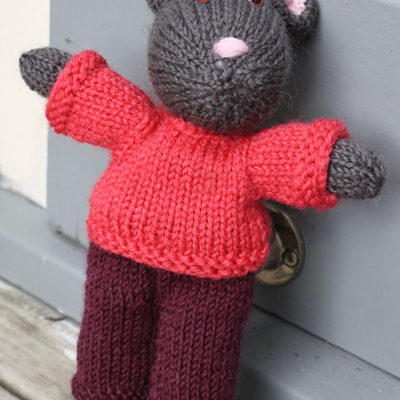 Hand Knitted Mouse