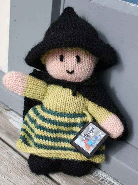 Hand Knitted Witch