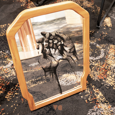 Hand Painted Mirror - 7