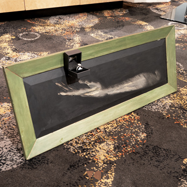 Hand Painted Mirror - 8