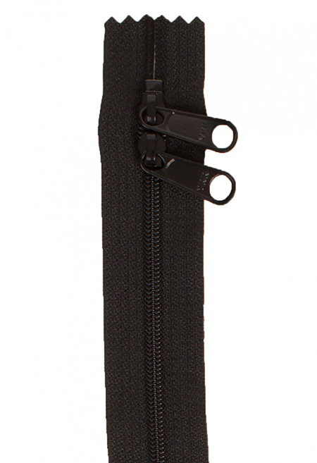 Handbag Zipper 30' with Double Pull in Neutral Colours