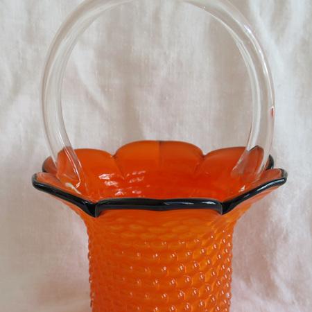 Handblown basket