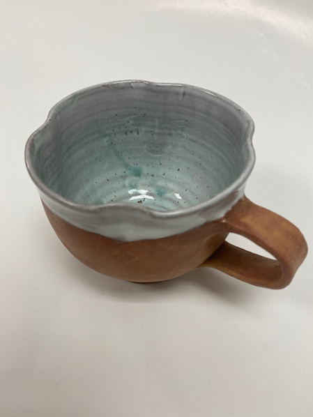 Handcrafted Terracotta Cup #1