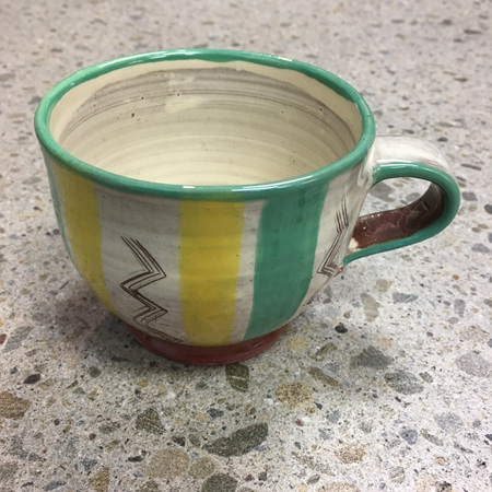 Handcrafted Terracotta Cup #6