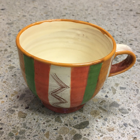 Handcrafted Terracotta Cup #7