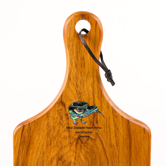 handle board small paua kiwi