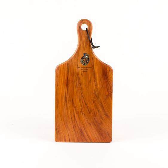 handle board small paua koru