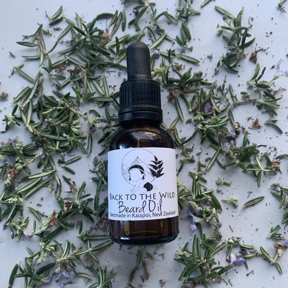 handmade beard oil natural organic skincare dandruff