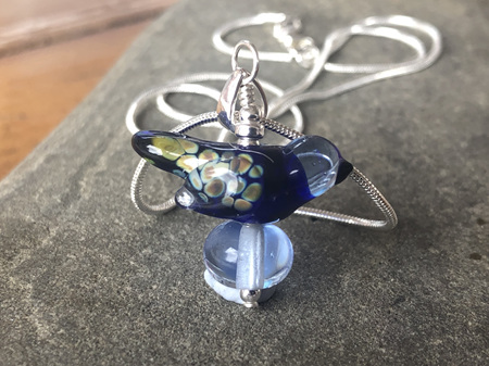 Handmade glass pendants and necklaces