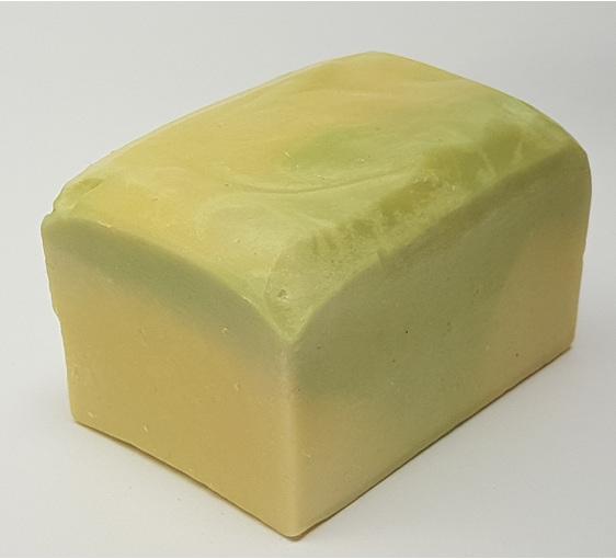 Handmade lemongrass soap