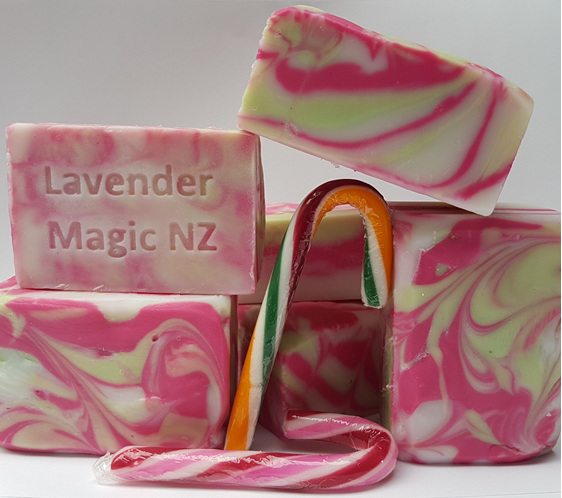 Handmade Peppermint Soap by Lavender Magic