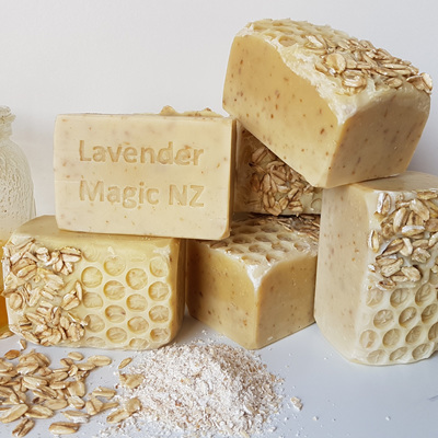 Honey and Oatmeal - Handmade Soap
