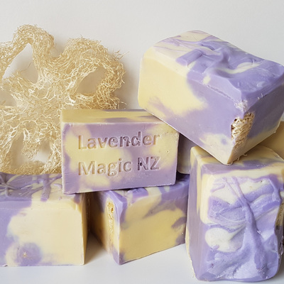 Lavender Loofah - Handmade Soap