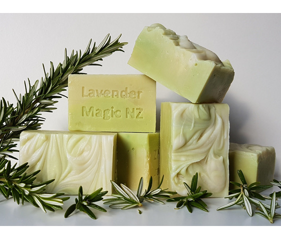 Handmade soap - Rosemary Shampoo Bar by Lavender Magic