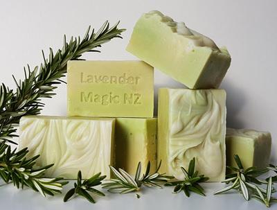 Handmade Soap - Rosemary Shampoo Bar