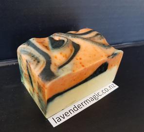 Handmade soap - sweet orange - goats milk