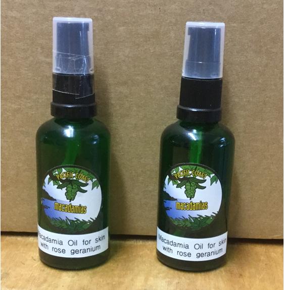 Handy bottle of oil for lovely skin