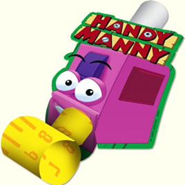 Handy Manny Blowouts 8pkt