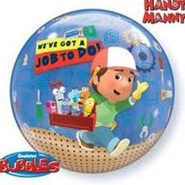 Handy Manny Bubble Balloon 22inch