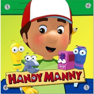 Handy Manny Lunch Napkins 8pkt