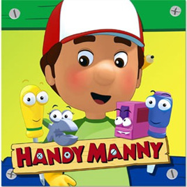 Handy Manny Lunch Napkins 8pkt