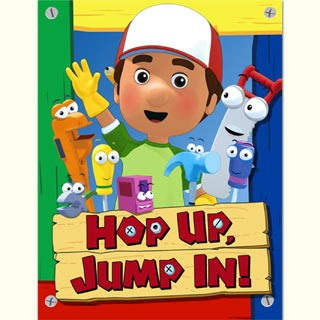 Handy Manny Party Invitations 8pkt