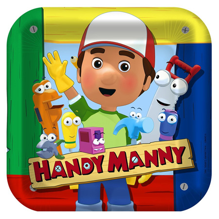 Handy Manny Party Range