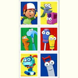 Handy Manny Stickers