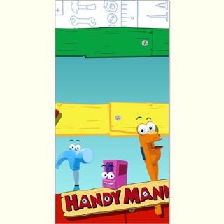 Handy Manny Table Cover