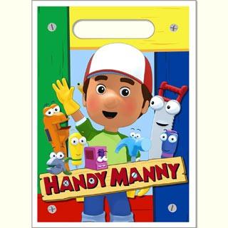 Handy Manny Treat Sacks 8pkt