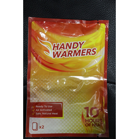 Handy warmers  Heat pk 2pc
