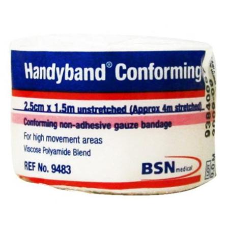 HANDYBAND CONFORMING BANDAGE 2.5CM