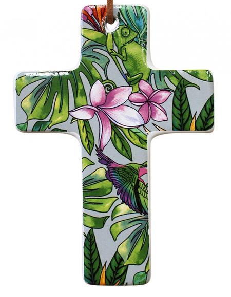 Hanging Cross Frangipani
